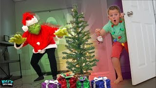 The GRINCH Stole Our Christmas! Escape the Room Game!