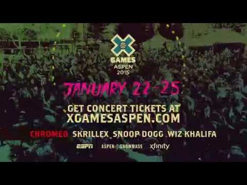 2015 X Games Aspen Commercial (2014 - 2015) (Television Commercial)