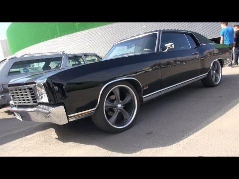 "Chevrolet Monte Carlo 383 Stroker on 22"" Boss wheels - SOUND!"