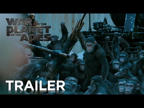 New Official Trailer for War for the Planet of the Apes