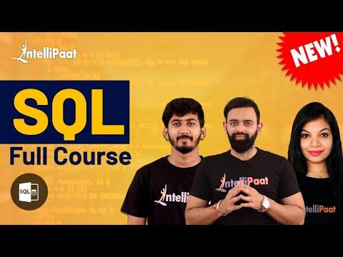 SQL Tutorial   Learn SQL   SQL for Beginners   Intellipaat - YouTube