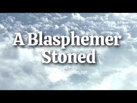 Leviticus 24:10 – 23: A Blasphemer Stoned | Bible Stories