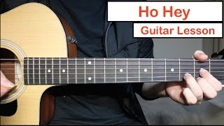 Ho Hey   The Lumineers | Guitar Lesson (Tutorial) How To Play Chords