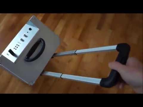 Malone Blockstar PA Komplettset mobil Trolley Lautsprecherbox Musikbox Rezension