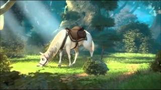 Tangled funny cuts between Flynn Rider and horse Maximus