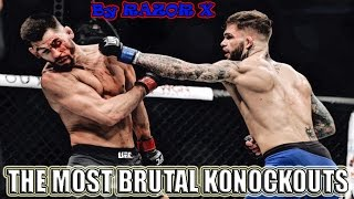 THE MOST BRUTAL KNOCKOUTS IN MMA ! ULTIMATE UFC KNOCKOUTS! САМЫЕ ЖЕСТОКИЕ НОКАУТЫ
