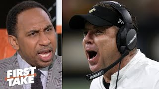 Stephen A. is discouraged by the Saints: Sean Payton blames everybody but himself !| First Take