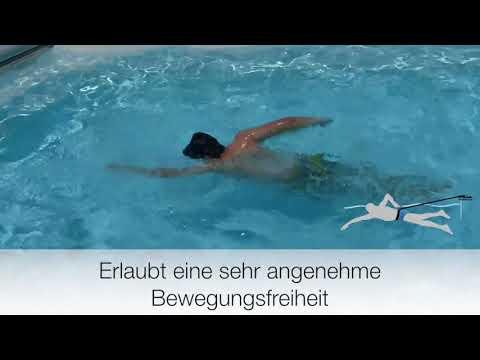 FREE SWIM XL Schwimmgurt inkl. Befestigungsstift VA bei poolshop123
