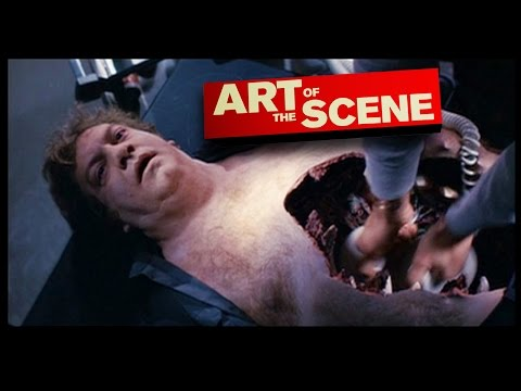 The Thing's Defibrillator Chest Chomp - Art of the Scene