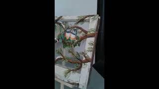 Antique Window Oil Painting Twin Stoke Technique, Part 2.