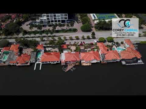 Park Shore Quadrille Real Estate Flyover in Naples, Florida