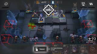 Blue Poison  - (Arknights) - Arknights - GT-6 Cheese with Ifrit and Blue Poison
