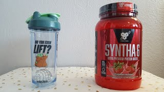 How to use  BSN Syntha-6 protein powder ( strawberry )