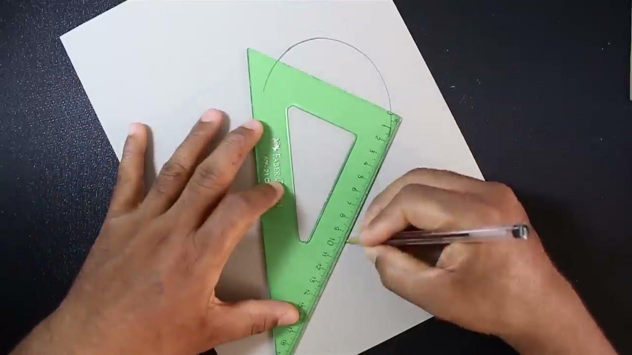 drawing 3d heart shape by art craft kids tv