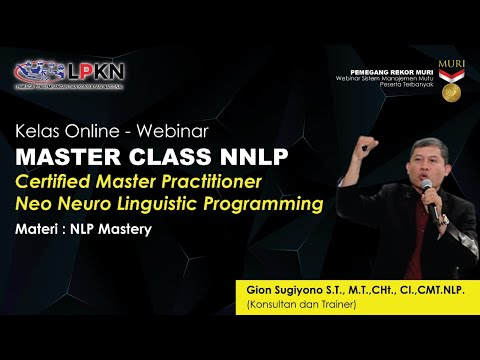 Sesi 1 - Certified Master Practitioner Neo Neuro Linguistic ...
