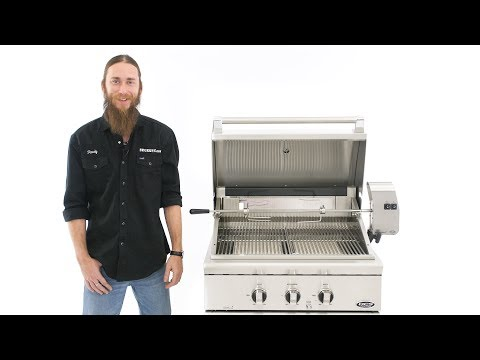 DCS Professional 30 Inch Gas Grill Overview