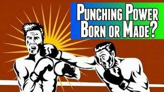 Punching Power - Born or Made? | Ask EricWongMMA