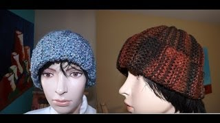 How to Knit Adult Hat or Beanie (Ribbed Stich) - with Ruby Stedman