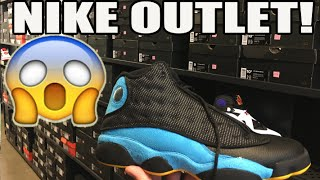 Jordan Retro Steals! Nike Factory Store Sneaker Shopping