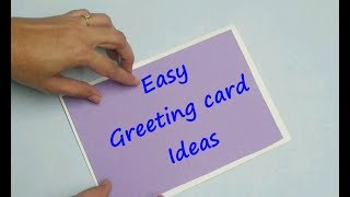 3 easy Greeting card ideas /new year cards / Christmas and new year cards / diy greeting cards