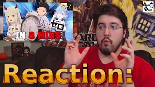 Re:Zero IN 8 MINUTES: Reaction #AirierReacts