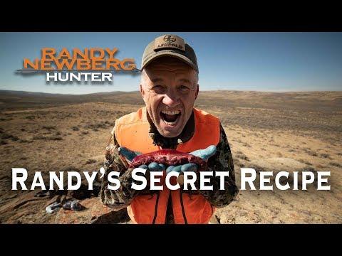 Randy Newberg's Secret Recipe - Cooking Pronghorn Tenderloin