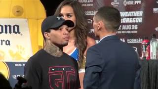 Floyd Mayweather vs. Conor McGregor Full undercard press conference plus face offs