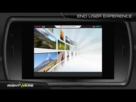 Video of Physics - Kanzi UI Demo