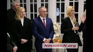Глава Николаевского облсовета победила мэра города на аукционе (видео)