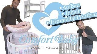 Comfort Baby - Babybett SmartGrow 7in1 - Aufbau und Inhalt - Himmelbett und BabySet - Anleitung