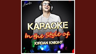 I Could Never Take the Place of Your Man (In the Style of Jordan Knight) (Karaoke Version)