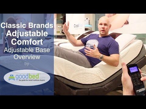 Classic Brands Adjustable Bed Overview (VIDEO)