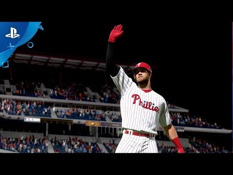 MLB The Show 19 – Bryce Harper Phillies Team Announcement Trailer | PS4 thumbnail