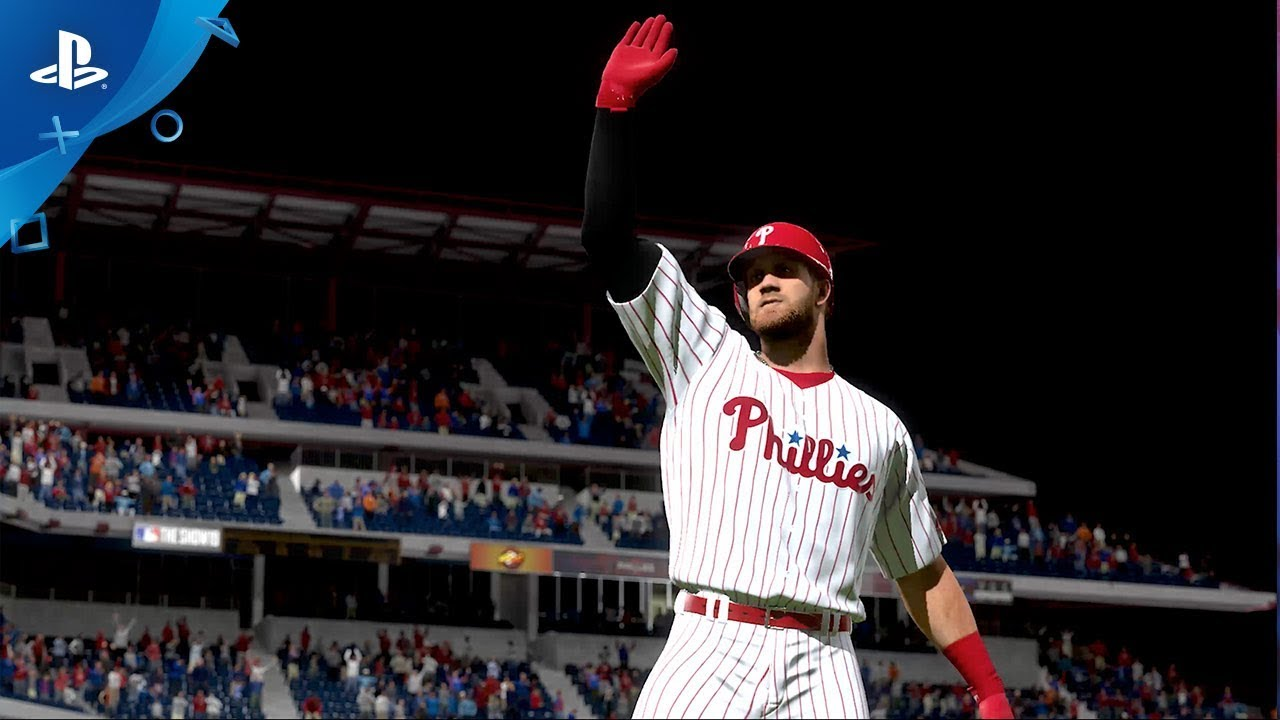 Bryce Harper Joins Phillies, Final MLB The Show 19 Box Art Revealed