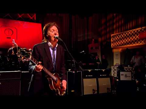 Paul McCartney - Coming Up - 6 Music Live