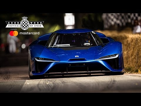 NIO EP9 Is Fastest Road Car On Slicks At FOS EVER.