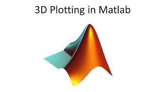 3D Plotting in Matlab