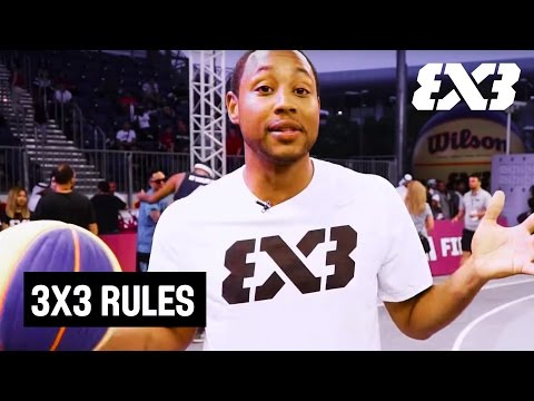 Fast-Paced & Exciting: 3x3 Basketball Rules Explained