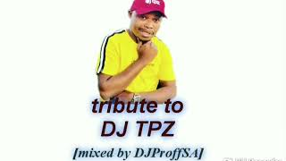 SA House_mixed by DJProffSA_Tribute to DJ TPZ