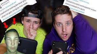 WE LET OUR FANS ROAST US!!! (Crawford Cries)