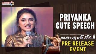 Priyanka Arul Mohan Adorable Speech | Nani's Gang Leader Pre Release Event | Karthikeya | Anirudh