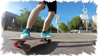 Globe Big Blazer Cruiser Board Skateboard in City GoPro Test Casual Ride