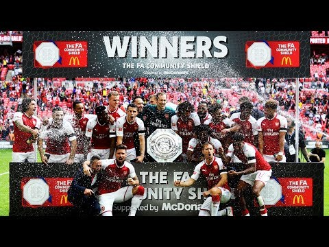 Arsenal Vs Chelsea 2017 Full Match Highlights & Penalties FA Community Shield Trophy Celeberation