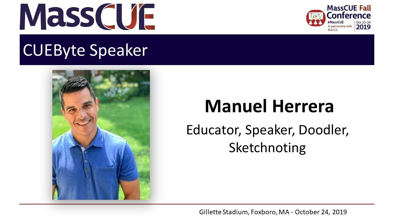 2019 Fall Conference CUEByte Manuel Herrera