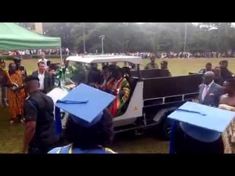 Technology in Ghana: KNUST team builds solar-powered car