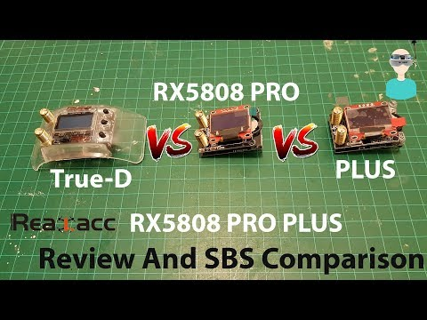 Realacc RX5808 PRO PLUS - Review And Comparison with Pro version
