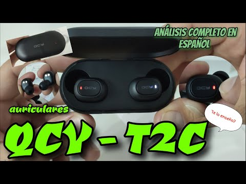 Auriculares Bluetooth QCY T2c