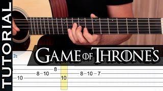 Cómo Tocar Game Of Thrones Juego De Tronos En Guitarra Con Tabs Fácil  | Guitarraviva ᴴᴰ