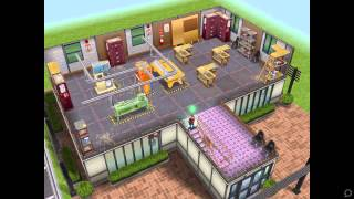 The Sims FreePlay- Sports Center / Community Center
