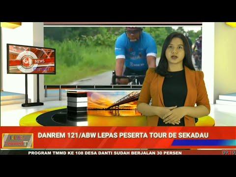 Sambut HUT Kodam XII/Tanjungpura, Danrem 121/ABW Bersepeda dari Sintang Menuju ke Sekadau